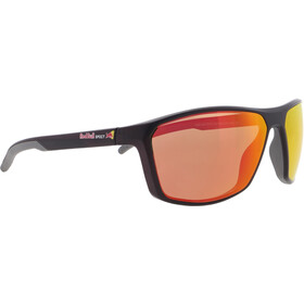 Red Bull SPECT Raze Sunglasses Men, matt x'tal black/brown-red mirror